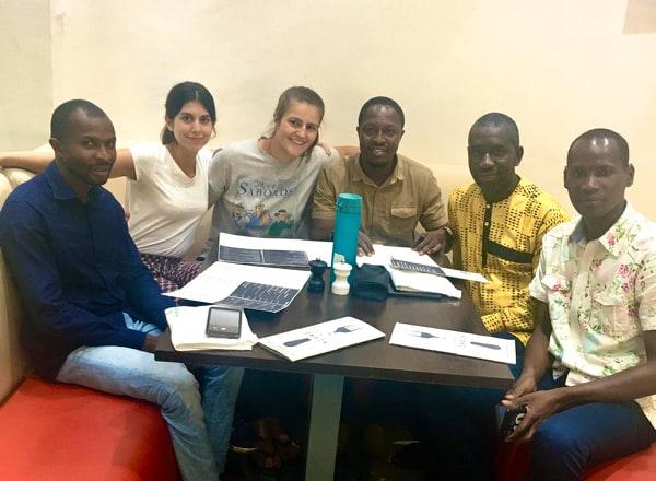 Une équipe de Reforest'Action à Conakry