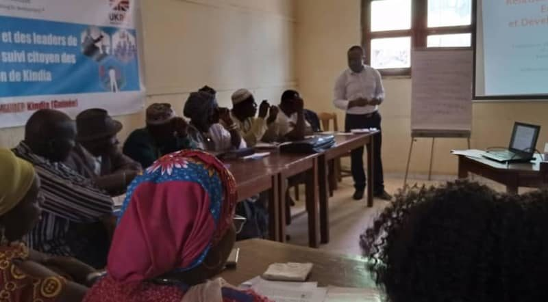 Atelier de formation de la société civile et des leaders de communautés minières en matière de suivi citoyen des activités minières dans la région de Kindia