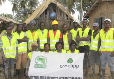 Kaback : Restauration des cotes dégradées avec Treeapp_Uk